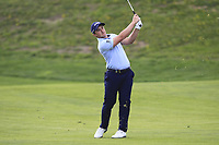Paul Dunne (IRL) on the 16th fairway during Round 4 of the Open de Espana 2018 at Centro Nacional de Golf on Sunday 15th April 2018.<br /> Picture:  Thos Caffrey / www.golffile.ie<br /> <br /> All photo usage must carry mandatory copyright credit (&copy; Golffile   Thos Caffrey)