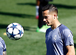 Real Madrid's Lucas Vazquez during training session. May 9,2017.(ALTERPHOTOS/Acero)