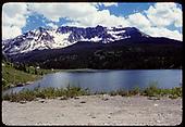 View of Trout Lake.<br /> RGS  Trout Lake, CO