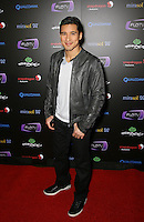MARIO LOPEZ .At SWAGG VIP Kid Rock Concert at the Joint inside the Hard Rock Hotel and Casino, Las Vegas, Nevada, USA,.7th January 2010..full length grey gray black leather jacket trousers white t-shirt trainers  .CAP/ADM/MJT.© MJT/AdMedia/Capital Pictures.