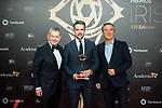 """Alberto Chicote attends """"Iris Academia de Television' awards at Nuevo Teatro Alcala, Madrid, Spain. <br /> November 18, 2019. <br /> (ALTERPHOTOS/David Jar)"""