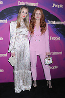 13 May 2019 - New York, New York - Rebecca Rittenhouse and Sophia La Porta at the Entertainment Weekly & People New York Upfronts Celebration at Union Park in Flat Iron. Photo Credit: LJ Fotos/AdMedia