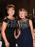 Marian Whearty and Emer Maguire at the St. Colmcilles gala ball in City North hotel. Photo:Colin Bell/pressphotos.ie