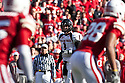 17 October 2009: Texas Tech quarterback Steven Sheffield threw for 234 yards against Nebraska at Memorial Stadium, Lincoln, Nebraska. Texas Tech defeats Nebraska 31 to 10.