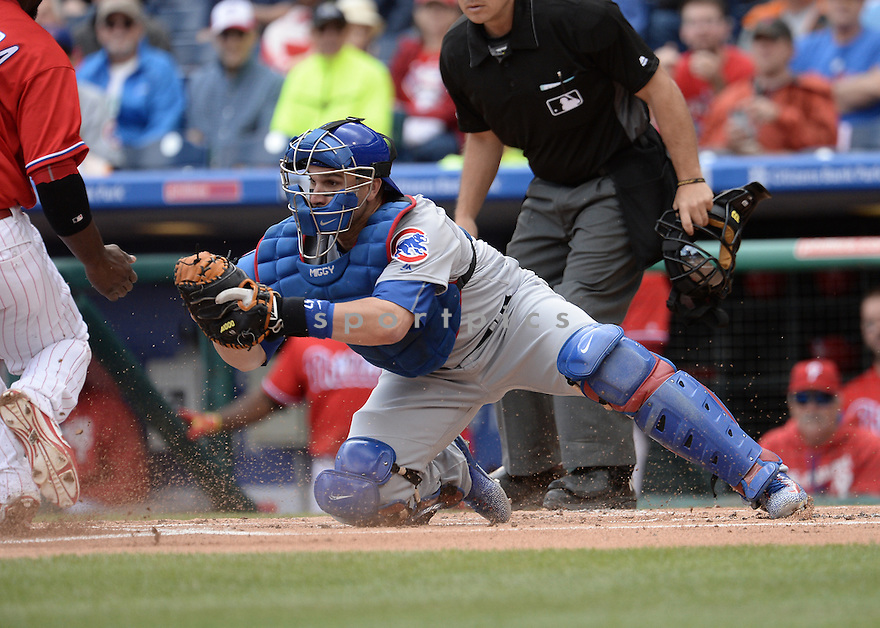 Chicago Cubs Miguel Montero (47) during a game against the Philadelphia Phillies on June 8, 2016 at Citizens Bank Park in Philadelphia, PA. The Cubs beat the Phillies 8-1.