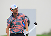 Mikko Ilonen (FIN) tees off the 2nd tee during Thursday's Round 1 of the 2014 BMW Masters held at Lake Malaren, Shanghai, China 30th October 2014.<br /> Picture: Eoin Clarke www.golffile.ie
