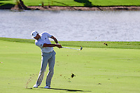 Sergio Garcia (ESP) hits his approach shot on 9 during round 2 of the Honda Classic, PGA National, Palm Beach Gardens, West Palm Beach, Florida, USA. 2/24/2017.<br /> Picture: Golffile | Ken Murray<br /> <br /> <br /> All photo usage must carry mandatory copyright credit (&copy; Golffile | Ken Murray)