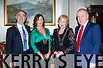 John Joe Culloty Killarney Mayor, Kate O'Leary President Killarney Chamber of Commerce, Margaret Cahill SKAL President and Minister Jimmy Deenihan