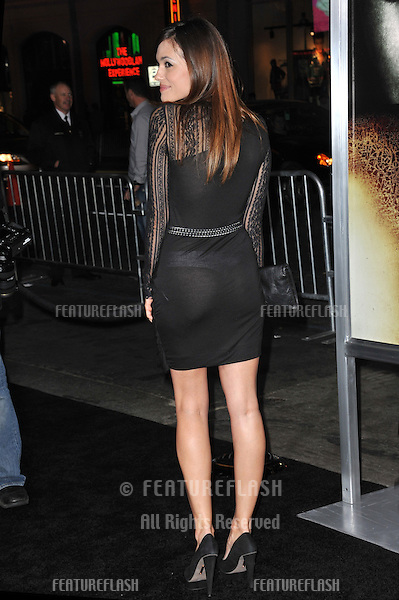 "Torrey DeVitto at the world premiere of her new movie ""The Rite"" at Grauman's Chinese Theatre, Hollywood..January 26, 2011  Los Angeles, CA.Picture: Paul Smith / Featureflash"