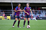 UEFA Women's Champions League 2018/2019.<br /> Semi Finals<br /> FC Barcelona vs FC Bayern Munchen: 1-0.<br /> Andressa Alves & Vicky Losada.