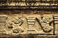This motif is repeated in numerous places throughout the old city ruins. (Photo by Matt Considine - Images of Asia Collection)