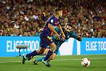 Supercopa de Espa&ntilde;a - Ida.<br /> FC Barcelona vs R. Madrid: 1-3.<br /> Carvajal vs Jordi Alba.