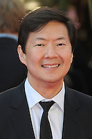 NON EXCLUSIVE PICTURE: PAUL TREADWAY / MATRIXPICTURES.CO.UK.PLEASE CREDIT ALL USES..WORLD RIGHTS..American actor Ken Jeong attending the European premiere of The Hangover Part 3, at the Empire Cinema in Leicester Square, London...MAY 22nd 2013..REF: PTY 133458