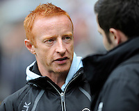 Ben Ryan, Fiji Sevens Head Coach, during Day Two of the iRB Marriott London Sevens at Twickenham on Sunday 11th May 2014 (Photo by Rob Munro)