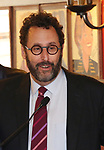 Tony Kushner during the 2018 Outer Critics Circle Theatre Awards presentation at Sardi's on May 24, 2018 in New York City.