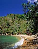 Trinidad & Tobago, Commonwealth, Trinidad, Macqueripe Bay; quiet beach in the north-west