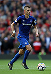 Morgan Schneiderlin of Everton during the premier league match at the Old Trafford Stadium, Manchester. Picture date 17th September 2017. Picture credit should read: Simon Bellis/Sportimage