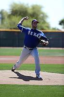 Blake Bass - 2016 Texas Rangers (Bill Mitchell)