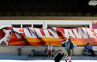 Bob Hope Airport, Burbank California. Saturday, October 11, 2008.