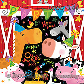 Sarah, CUTE ANIMALS, LUSTIGE TIERE, ANIMALITOS DIVERTIDOS, paintings+++++,USSB144,#AC# ,birthday ,everyday