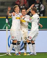 Fussball DFB Pokal 2011/12: Borussia Moenchengladbach - FC Schalke 04