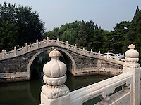 Br&uuml;cke im im Sommerpalast, Yi He Yuan, in Peking, China, Asien, UNESCO-Weltkulturerbe<br /> Bridge in the summerpalace, Yi He Yuan,Beijing, China, Asia, world heritage