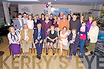 Michael and Kathleen O'Connor, Dooks, pictured with family and friends as they celebrated their 40th wedding anniversary in Jacks Bar, Cromane on Saturday night.
