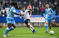 Bolton Wanderers' Dennis Politic (centre) plays a through ball<br /> <br /> Photographer Andrew Kearns/CameraSport<br /> <br /> The EFL Sky Bet Championship - Bolton Wanderers v Coventry City - Saturday 10th August 2019 - University of Bolton Stadium - Bolton<br /> <br /> World Copyright © 2019 CameraSport. All rights reserved. 43 Linden Ave. Countesthorpe. Leicester. England. LE8 5PG - Tel: +44 (0) 116 277 4147 - admin@camerasport.com - www.camerasport.com