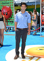 Tom Bishops at the world premiere for &quot;The Emoji Movie&quot; at the Regency Village Theatre, Westwood. Los Angeles, USA 23 July  2017<br /> Picture: Paul Smith/Featureflash/SilverHub 0208 004 5359 sales@silverhubmedia.com