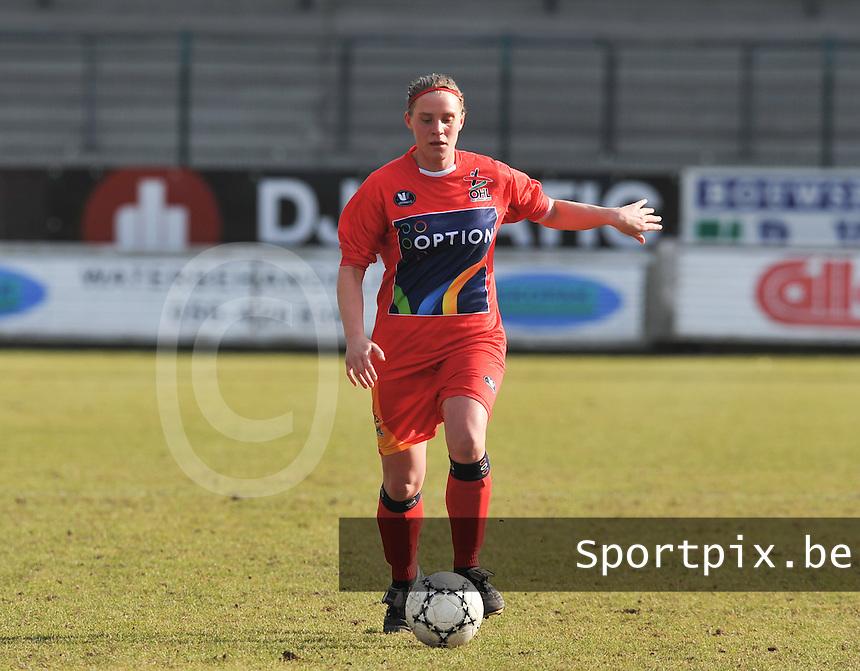 Oud Heverlee Leuven OHL : Jesse Goethals.Foto David Catry / vrouwenteam.be / loft6.be