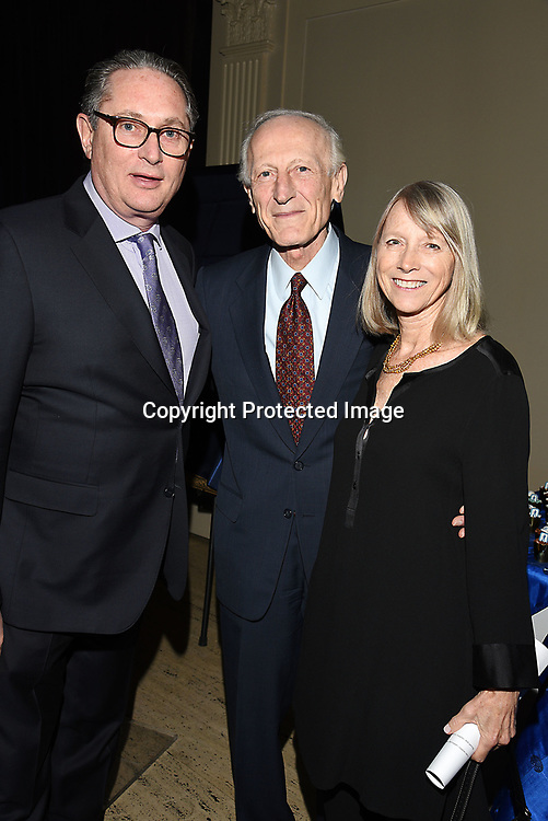 Michael Bebon, Dr Richard Soghoian Sara Ziff  attend the Columbia Grammar & Prep School 2017 Benefit on March 8, 2017 at Cipriani Wall Street in New York, New York.