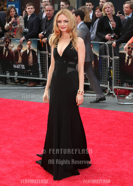 Heather Graham arriving for 'The Hangover Part III' European Premiere, London. 22/05/2013 Picture by: Alexandra Glen / Featureflash