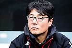 FC Seoul Head Coach Hwang Sun-hong during the 2017 Lunar New Year Cup match between Auckland City FC (NZL) vs FC Seoul (KOR) on January 28, 2017 in Hong Kong, Hong Kong. Photo by Marcio Rodrigo Machado/Power Sport Images