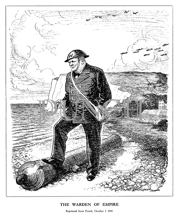 The Warden of Empire. Reprinted from Punch, October 1 1941.