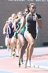 The Gazette Oxon Hill High School's Deseree King runs in the 4A 800 meter race placing 6th during the Maryland state track and field championships held in Morgan State University in Baltimore on Saturday.