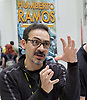 London Super Comic Convention <br /> at ExCel London, Great Britain <br /> 20th February 2016 <br /> <br /> Humberto Ramos <br /> artist <br /> <br /> Photograph by Elliott Franks <br /> Image licensed to Elliott Franks Photography Services