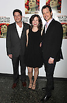Curtis Billings & Maggie Lacey & Darren Pettie.attending the After Party for the Off-Broadway Roundabout Theatre Company Production of  'The Milk Train Doesn't Stop Here Anymore' at the Laura Pels Theatre in New York City..