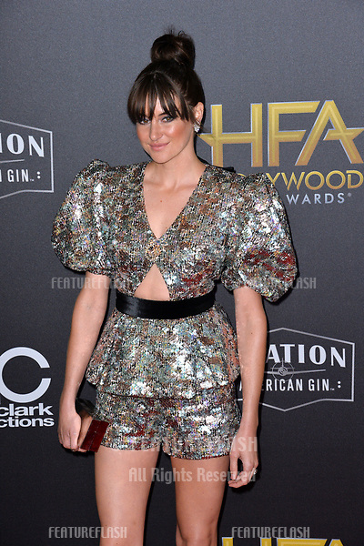 LOS ANGELES, CA. November 04, 2018: Shailene Woodley at the 22nd Annual Hollywood Film Awards at the Beverly Hilton Hotel.<br /> Picture: Paul Smith/Featureflash