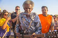 SAO PAULO, SP, 28.07.2018 – SHOW SP - O guitarrista Lil Jimmy Reed na quarta edição do festival BB Seguros de Blues e Jazz acontece em São Paulo, na tarde deste sábado (28) no Parque Villa-Lobos, zona oeste da capital.(Foto: Danilo Fernandes/Brazil Photo Press)