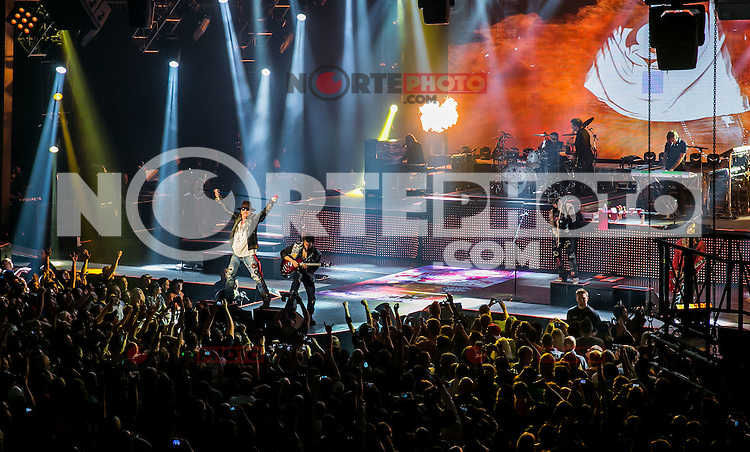 LAS VEGAS, NV - November 2: Guns N' Roses perform 'Appetite For Democracy' Residency Show at The Joint at Hard Rock Hotel & Casino on November 2, 2012 in Las Vegas, Nevada.  Photo By Kabik/ Starlitepics/MediaPunch Inc. /NortePhoto