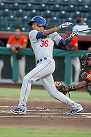 Alex Santana - 2012 AZL Dodgers (Bill Mitchell)