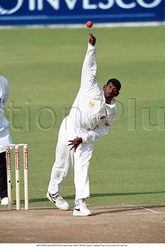 MAHENDRA NAGAMOOTOO, Glamorgan v WEST INDIES, Cardiff 000606 Photo:Glyn Kirk/Action Plus...2000.Cricket.Bowler.bowling