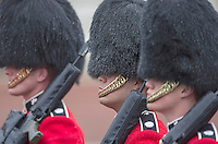 18 May 2016 - London England - The Queen's Guard during the State Opening of Parliament in London. The State Opening of Parliament marks the formal start of the parliamentary year and the Queen's Speech sets out the government's agenda for the coming session. Photo Credit: ALPR/AdMedia