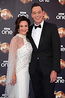 "Shirley Ballas and Craig Revel-Horwood<br /> at the launch of ""Strictly Come Dancing"" 2018, BBC Broadcasting House, London<br /> <br /> ©Ash Knotek  D3426  27/08/2018"