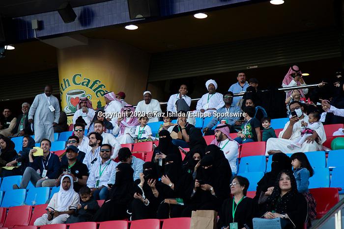 RIYADH,SAUDI ARABIA-FEB 28:  Track sceneat King Abdulaziz Racetrack on February 28,2020 in Riyadh,Saudi Arabia. Kaz Ishida/Eclipse Sportswire/CSM