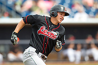 Great Lakes Loons infielder Corey Seager #12 runs during a game against the Quad Cities River Bandits at Modern Woodmen Park on April 29, 2013 in Davenport, Iowa. (Brace Hemmelgarn/Four Seam Images)