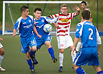 St Johnstone U16's.Matthew McArthur (No8) in a game against Hamilton Accies U16.Picture by Graeme Hart..Copyright Perthshire Picture Agency.Tel: 01738 623350  Mobile: 07990 594431