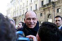 20140206 ROMA-POLITICA: LETTA SI CONFRONTA CON GLI ESODATI