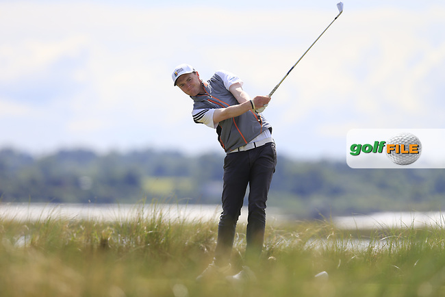 Eugene Smith (Laytown &amp; Bettystown) during the 2nd round of the East of Ireland championship, Co Louth Golf Club, Baltray, Co Louth, Ireland. 03/06/2017<br /> Picture: Golffile | Fran Caffrey<br /> <br /> <br /> All photo usage must carry mandatory copyright credit (&copy; Golffile | Fran Caffrey)