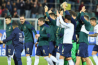 Italy's players celebrate at the end of match<br /> Palermo 18-11-2019 Stadio Renzo Barbera <br /> UEFA European Championship 2020 qualifier group J <br /> Italy - Armenia <br /> Photo Carmelo Imbesi / Insidefoto